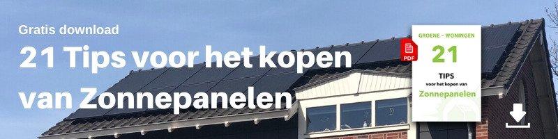 Banner 21 Tips voor het kopen van zonnepanelen
