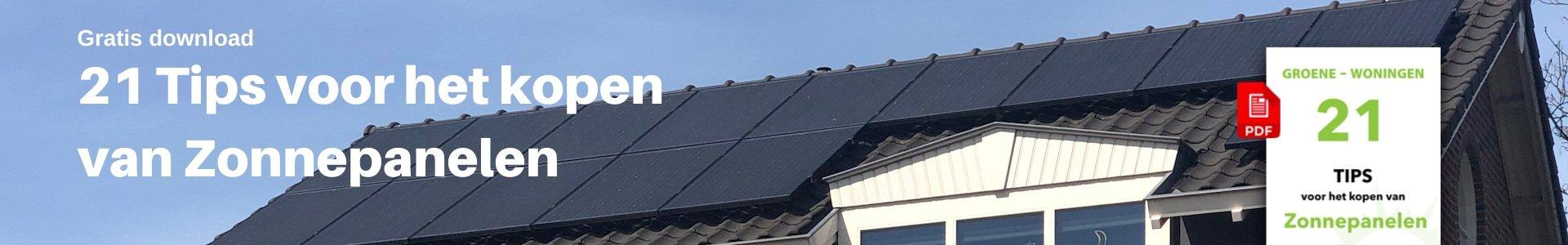 Header 21 Tips voor het kopen van zonnepanelen