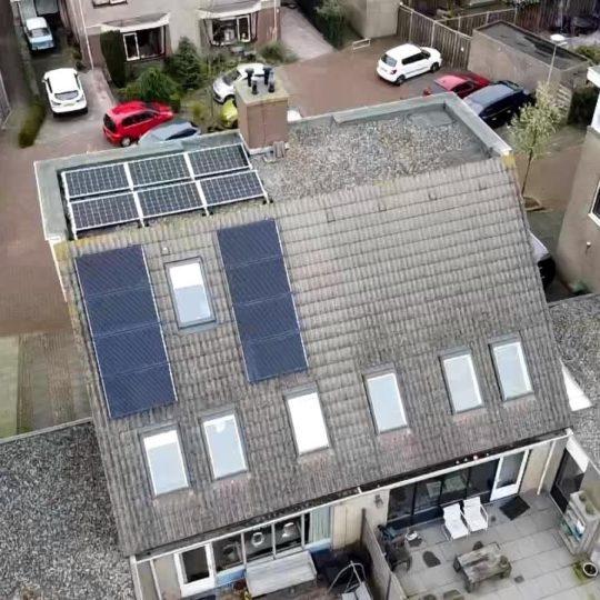14 zonnepanelen Solarwatt glas-glas plus SMA omvormer