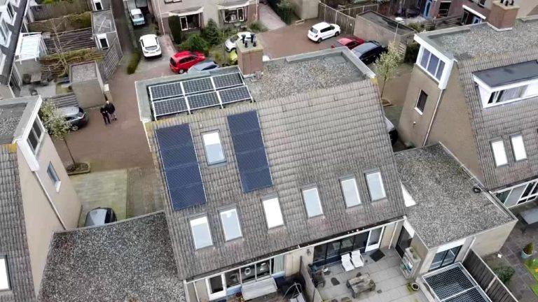 Alphen aan de Rijn –  14 Solarwatt Glas-Glas zonnepanelen