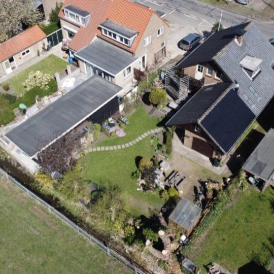 16 Solarwatt glas-folie zonnepanelen in Spaarndam