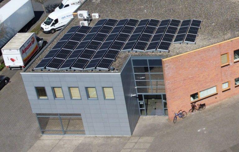 Sassenheim  56 zonnepanelen glas-folie