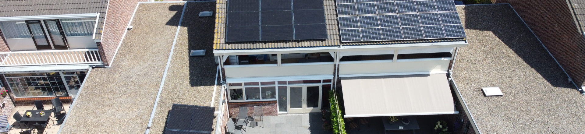 Zonnesysteem bij de familie van Delft