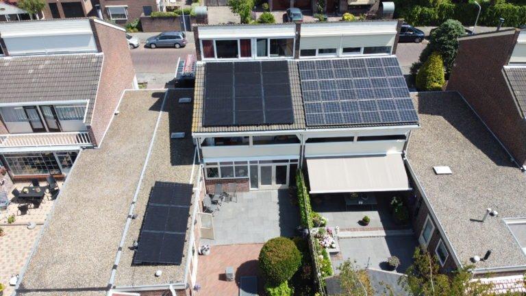 Rijnsburg 21 Solarwatt glas-glas zonnepanelen