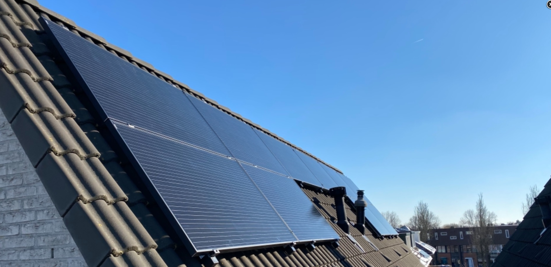 Jacco van Egmond 16 zonnepanelen