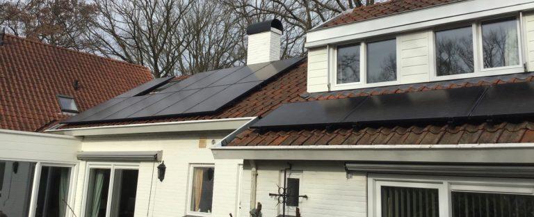 Solarwatt zonnepanelen en Wallbox laadpaal in Sassenheim