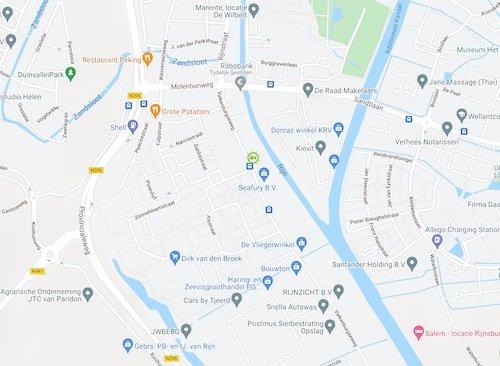 Route naar Groene-Woningen