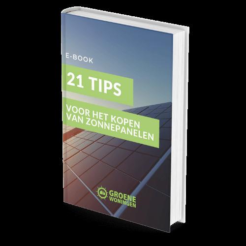 ebook 21 tips zonnepanelen